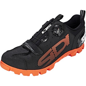 Sidi SD15 Shoes Herre black/orange